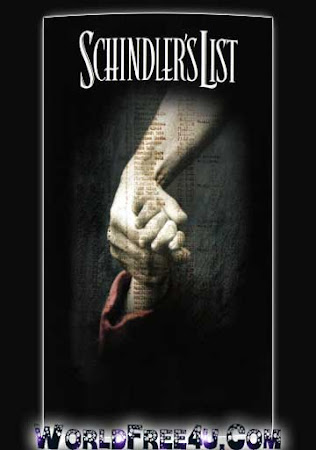 Poster Of Schindler's List In Dual Audio Hindi English 300MB Compressed Small Size Pc Movie Free Download Only At worldfree4u.com