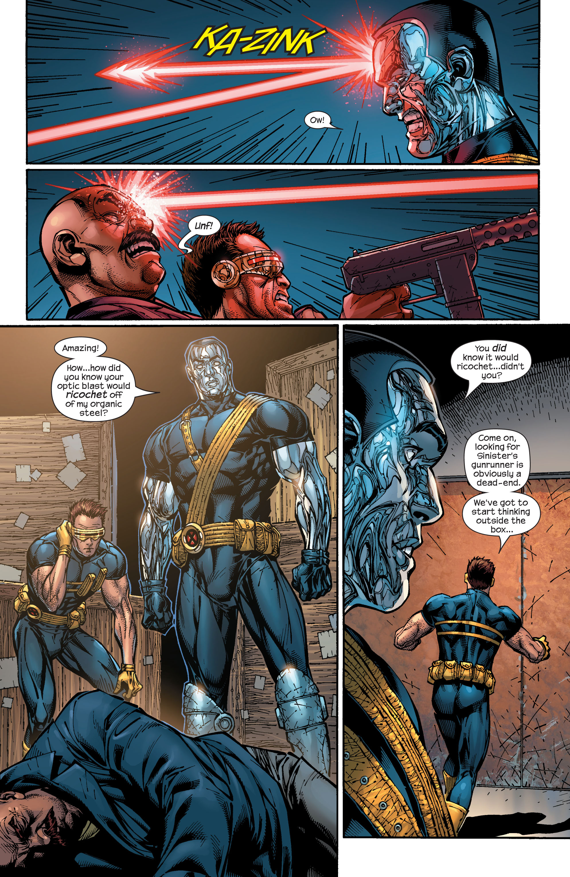 Read online Ultimate X-Men comic -  Issue #48 - 15