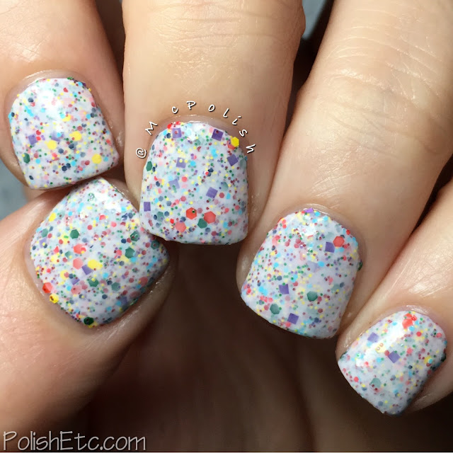 Nine Zero Lacquer - ROY G BIV Collection - McPolish - Double Rainbow