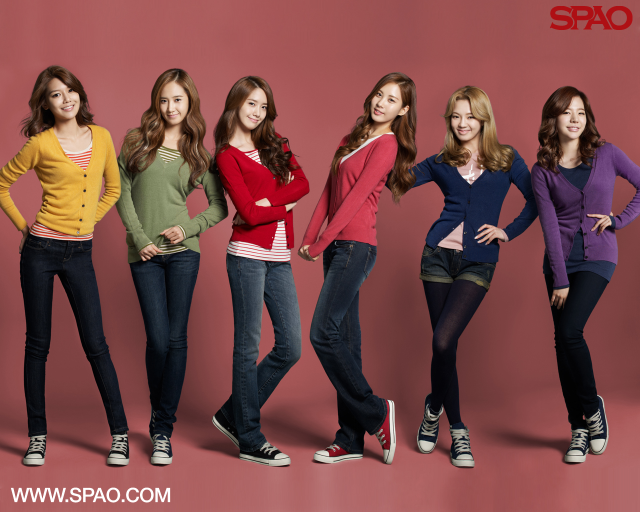 Pictures Super Junior And Snsd Released New Wallpapers For Spao