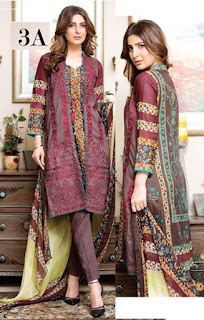 Alisha Memon Lawn Collection 2016-17 By ZS Textile
