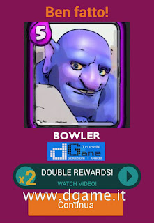 Soluzioni Quiz Clash Royale card livello 11
