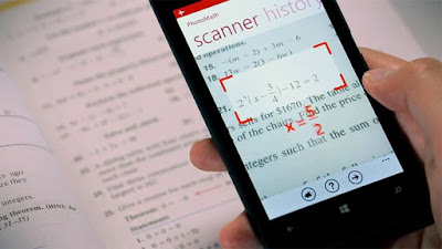 Solve Math Problems from Just taking Picture from Android Mobile