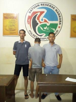 Polres Lampung Timur Tangkap 2 Tersangka Narkoba
