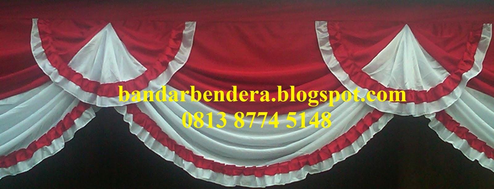 Bandar Bendera Merah Putih Plastik Flag Palstik