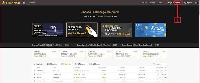 مراحل التسجيل وطريقة إدياع الرصيد على أسرع منصة في مجال العملات الرقمية