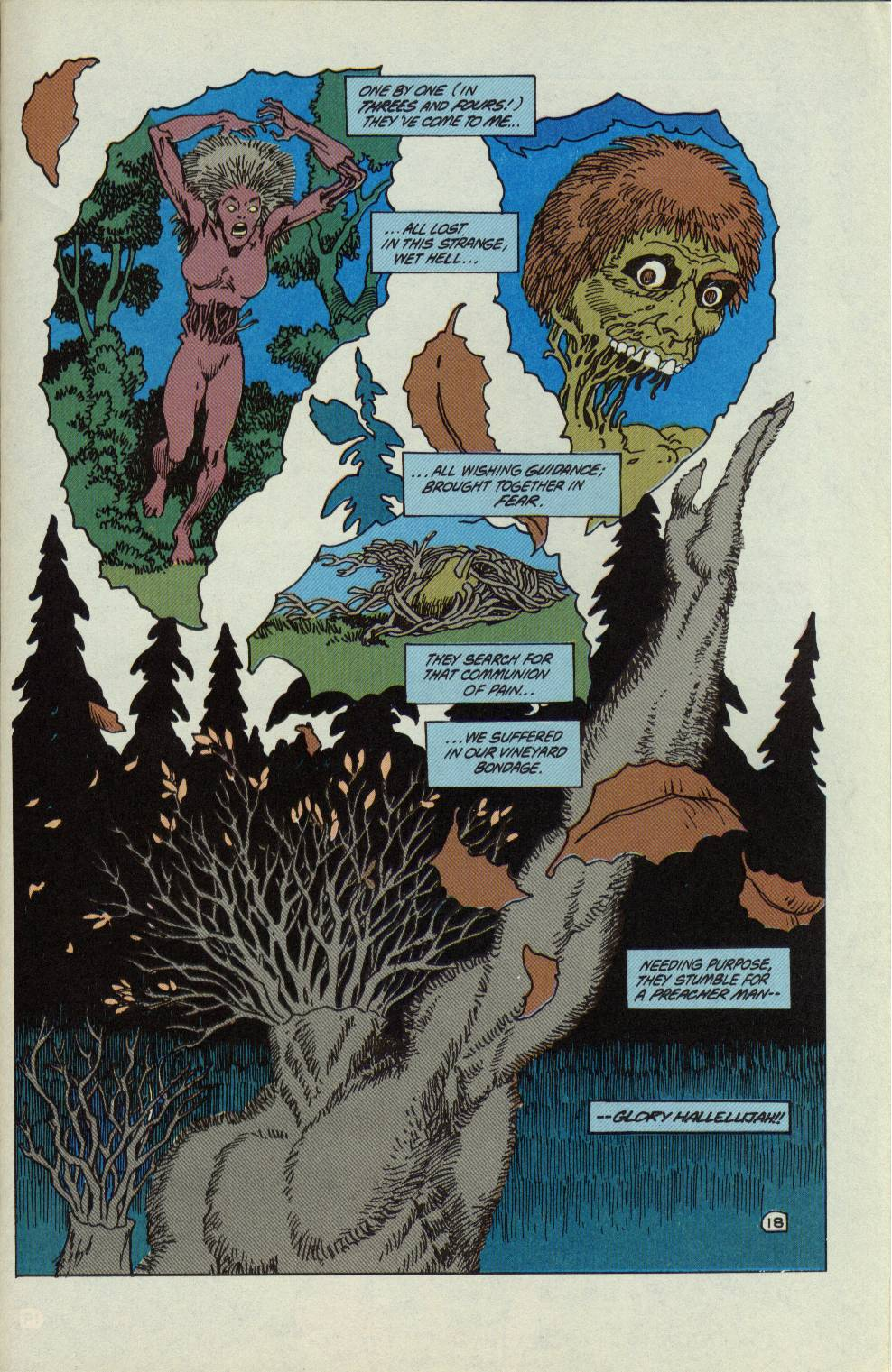 Swamp Thing (1982) Issue #99 #107 - English 19