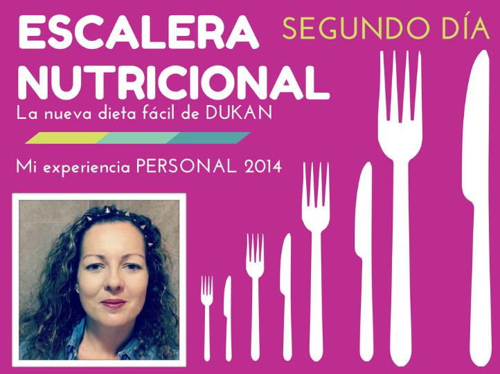 Vídeo de mi experiencia personal con la nueva dieta suave de Dukan ,LA ESCALERA NUTRICIONAL,mi segundo día el MARTES de proteínas y deporte 20 minutos de caminata fuerte y más...