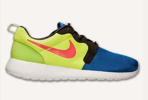 promo code ee423 60e46 Nike Roshe Run Hyperfuse Premium Game Royal Hyper Punch Volt Sneaker  Available Now (Images)