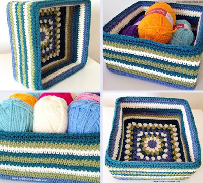 http://crafternoontreats.com/free-craft-tutorials/free-crochet-tutorials/free-tutorial-retro-granny-stash-box/