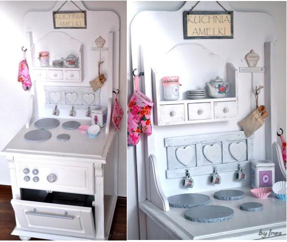 M&M Lifestyle  Parenting  Moda Inspiracje  kuchnia dla dziecka DIY # Kuchnia Drewniana Dla Dzieci Diy