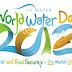 Maailman vesipäivänä puhutaan veden ja ruuan riittävyydestä
