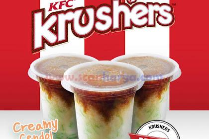 KFC Cendol Promo Krushers Creamy KFC Coffee Harga Rp.13.636