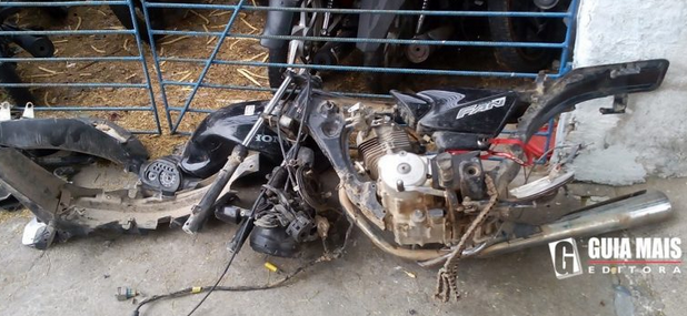 Polícia Militar recupera moto roubada nas 369 casas em Delmiro Gouveia