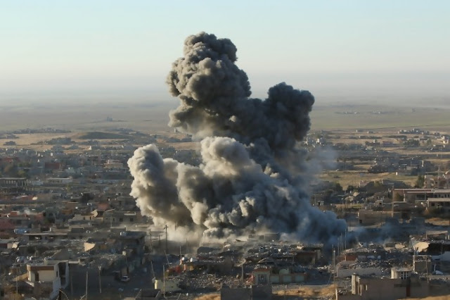 Serangan Udara AS Hantam Sekolah di Suriah, 33 Sipil Tewas