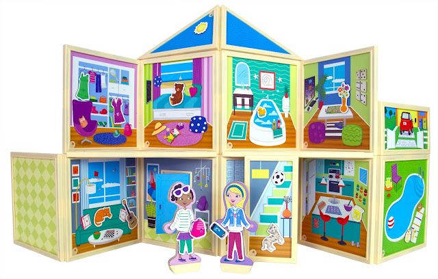 Malia's House from Build and Imagine Toys