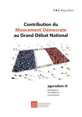 Contribution du MoDem au Grand débat national