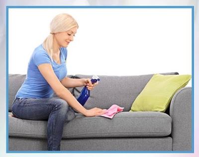 بالفيديو تعرفى على أسهل طريقة تنظيف كنب الانتريه القماش و الجلد و بمكونات منزلية بسيطة