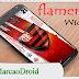 Flamengo widget | personalização 2017
