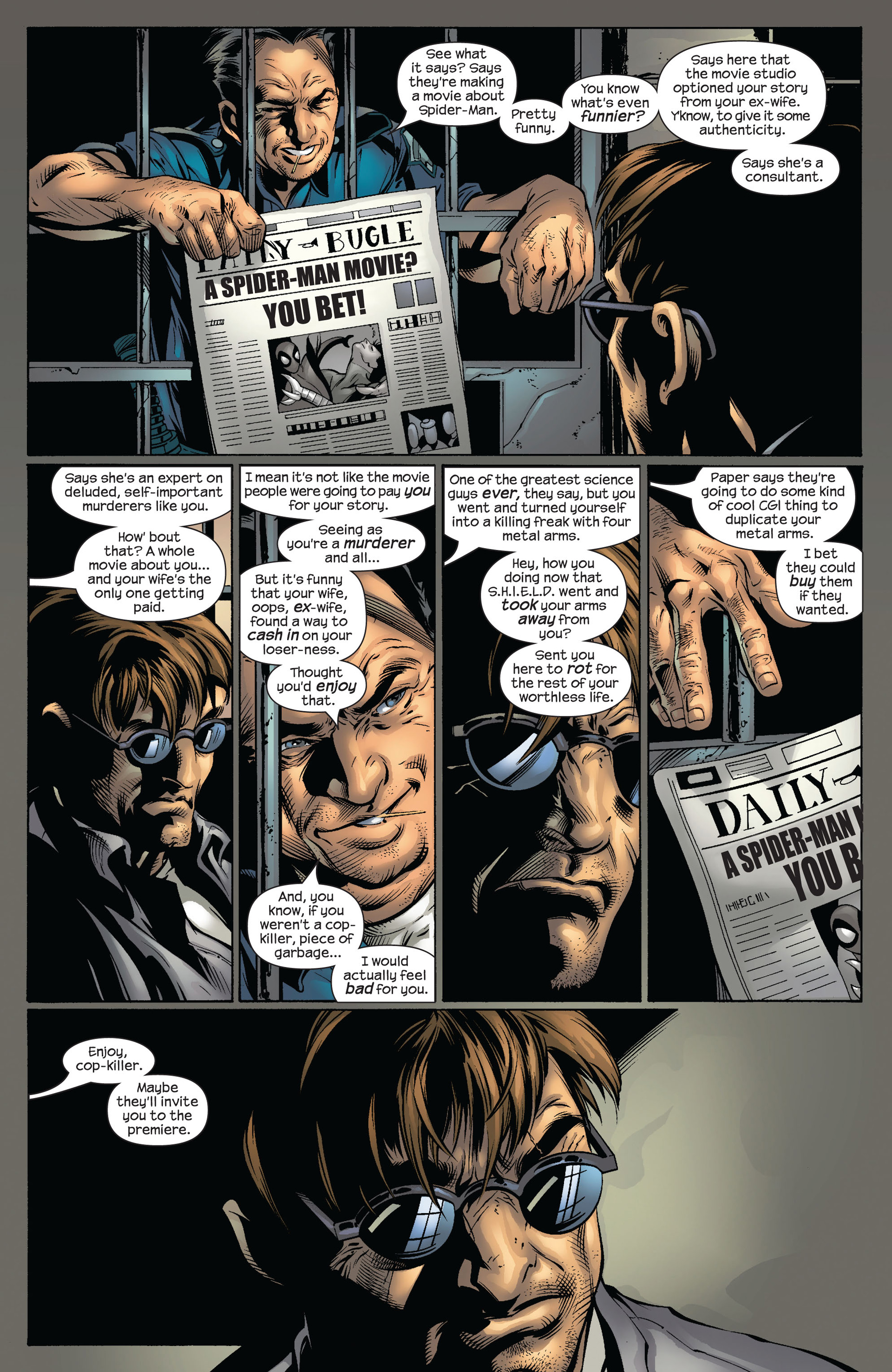 Read online Ultimate Spider-Man (2000) comic -  Issue #54 - 10
