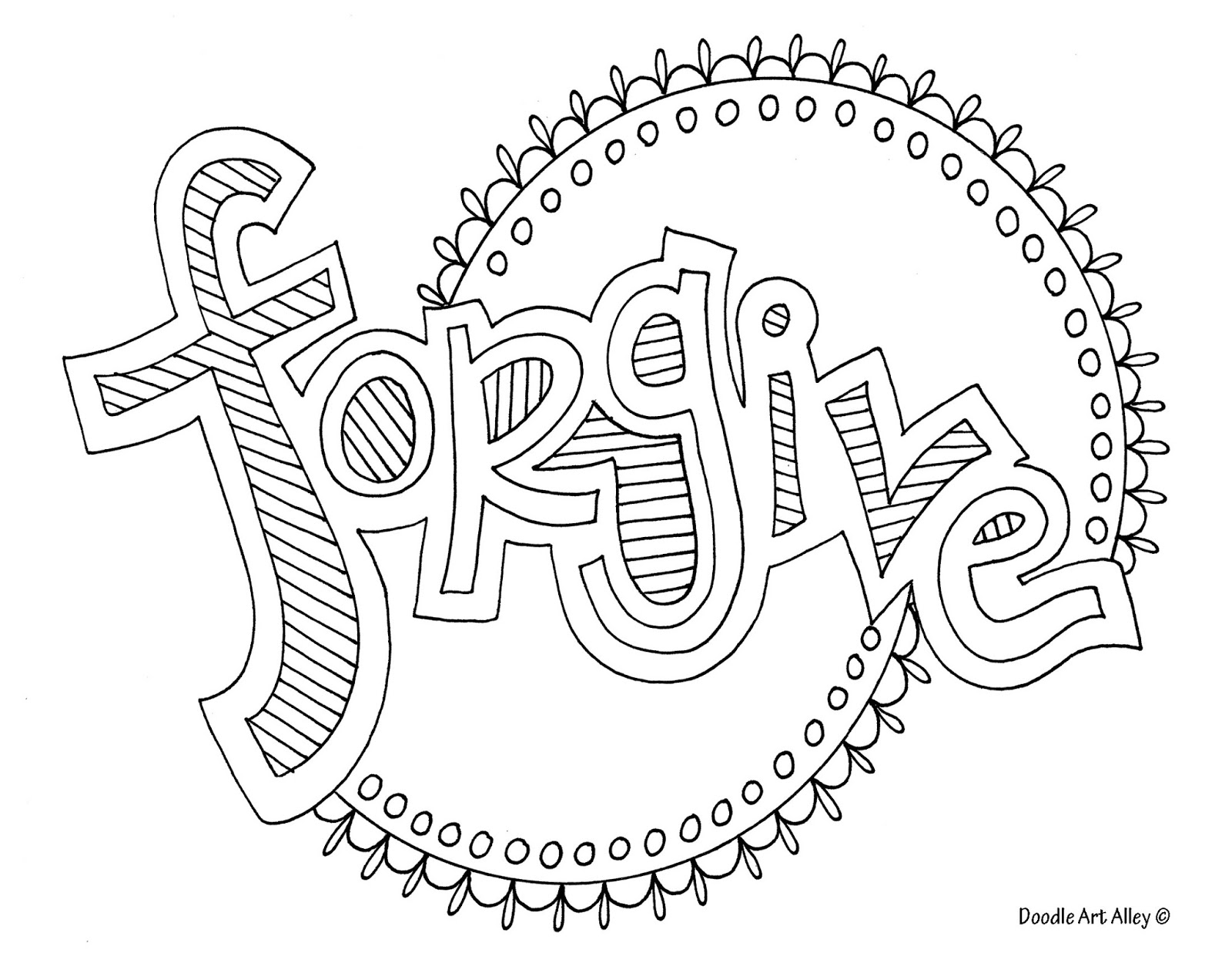 Coloring pages about forgiveness ~ Do You F.R.O.G ?: Kiss and Make Up with Forgiveness