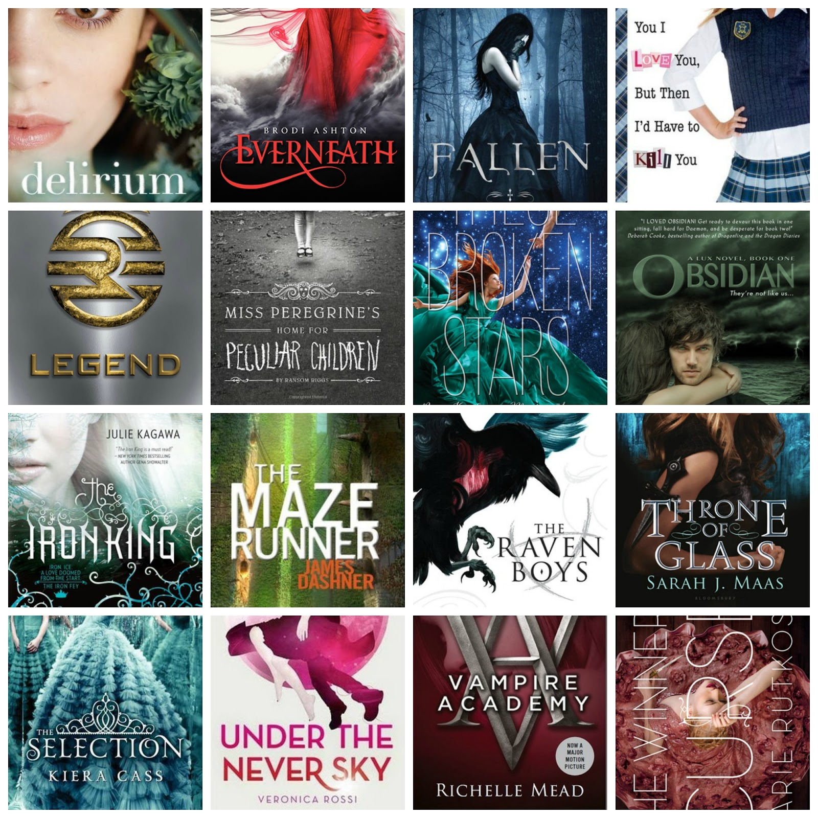 Need To Read 2 Popular Ya Series I D Like To Start