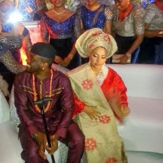 lola4 Photos from Peter Okoye and Lola Omotayos traditional wedding