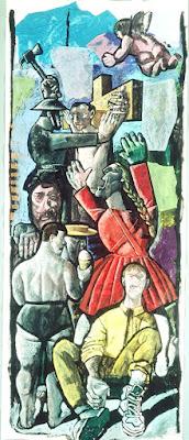 Crucifixion 1, Sarah Raphael