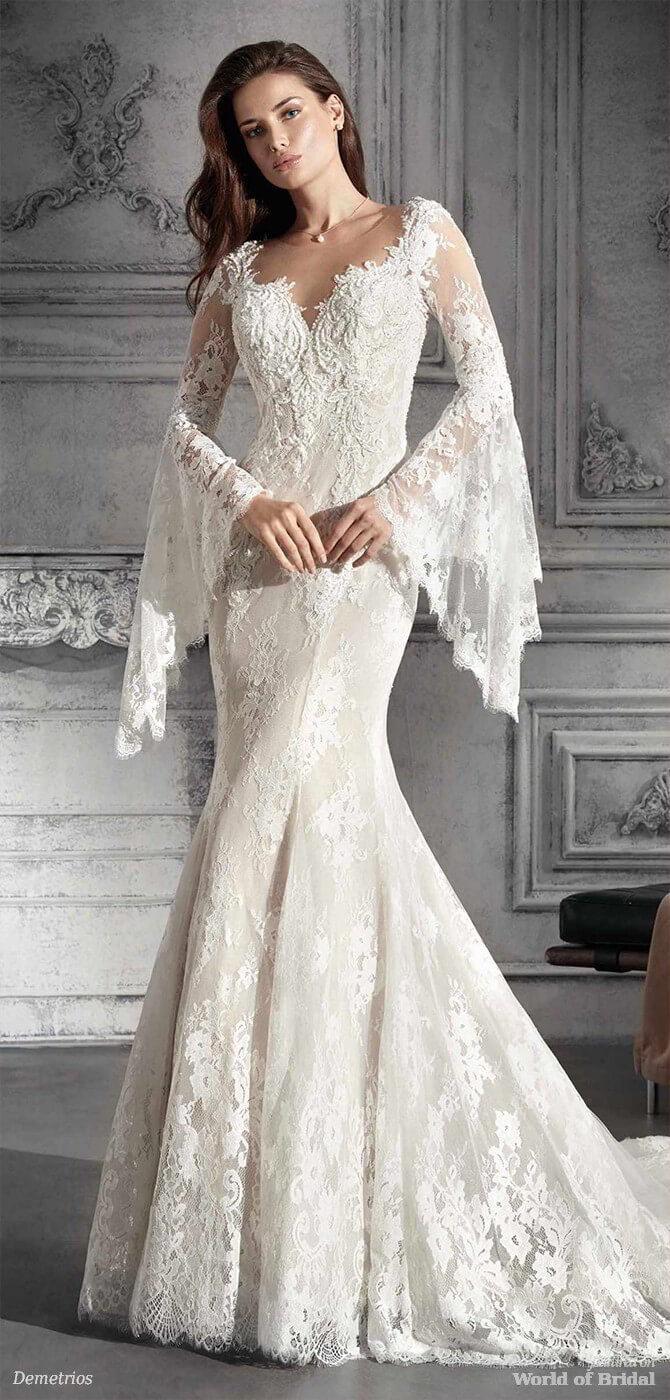 Demetrios 2018 Wedding Dress