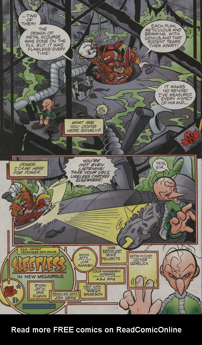 Read online Sonic The Hedgehog comic -  Issue #194 - 22