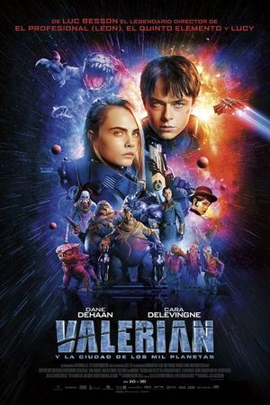 Poster Valerian and the City of a Thousand Planets 2017