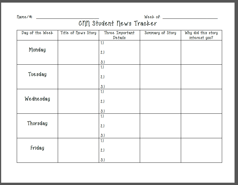 Elementary Teacher Files Cnn Student
