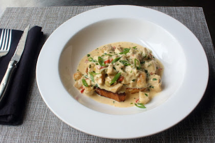 Creamy Chicken Toast – A Recipe and a Reminder