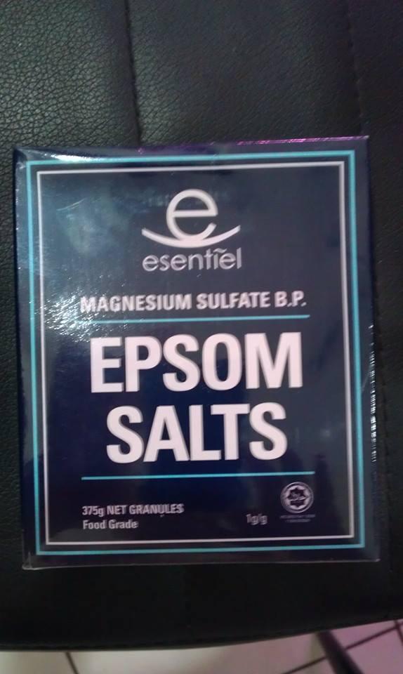 Garam Inggris Epsom Salts
