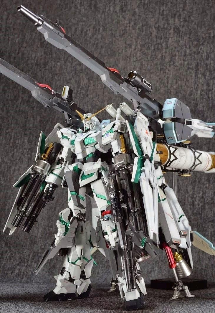 Gundam Guy Mg 1 100 Full Armor Unicorn Gundam Custom Build