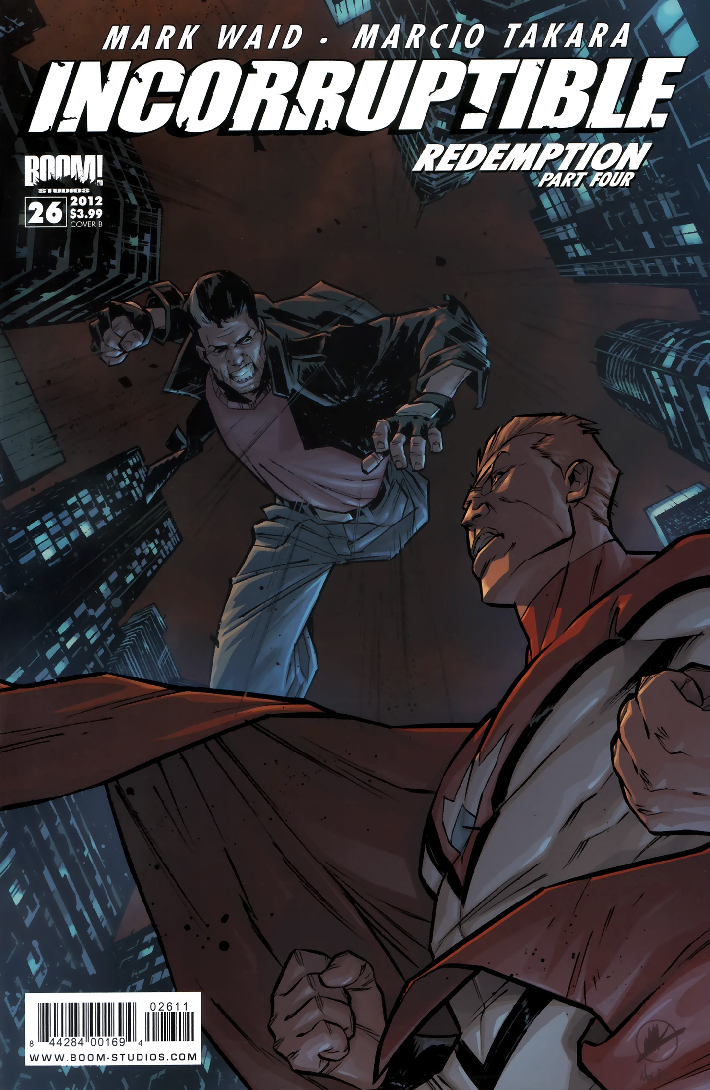 Read online Incorruptible comic -  Issue #26 - 2