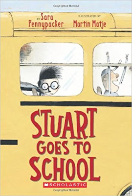 https://www.amazon.com/Stuart-Goes-School-Sara-Pennypacker/dp/0439301831/ref=sr_1_1?ie=UTF8&qid=1501449888&sr=8-1&keywords=stuart+goes+to+school