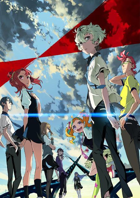 Kiznaiver - nowy motyw wizualny anime
