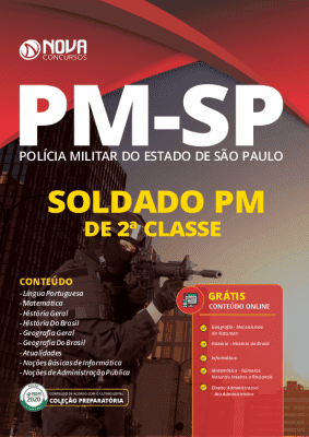 Apostila PM SP 2020 Soldado PM de 2ª Classe Grátis Cursos Online
