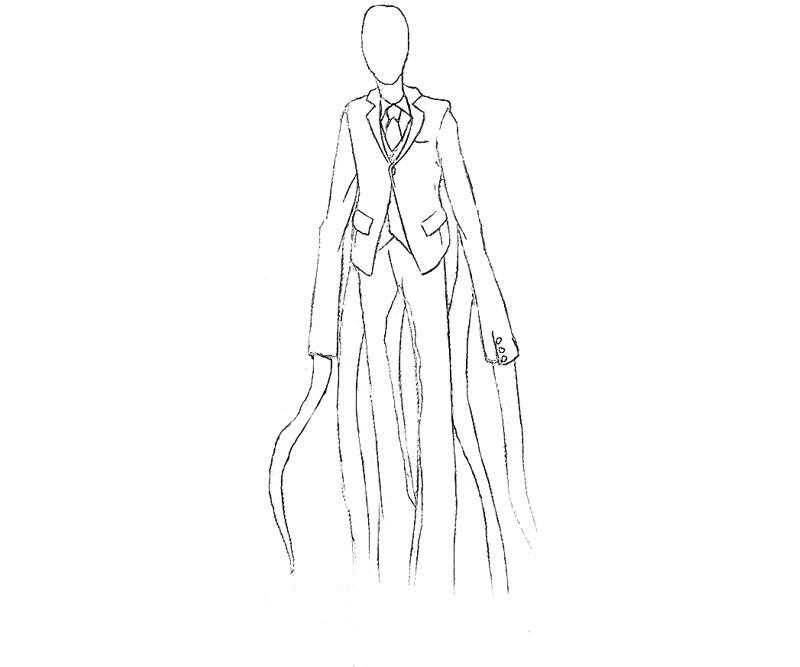 slender slender man character