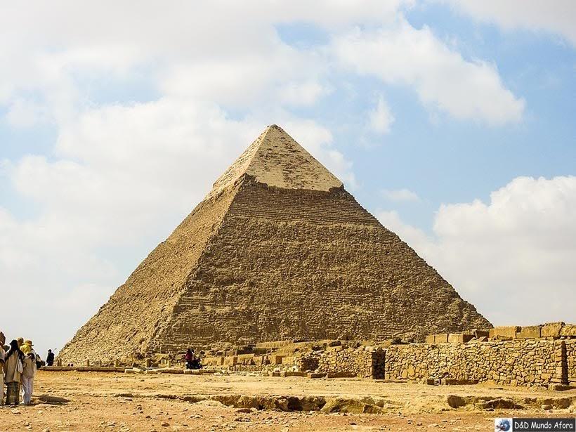 Pirâmide de Quéfren - Diário de Bordo: 2 dias no Cairo