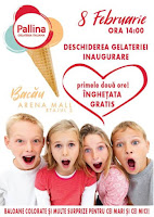 Pallina Gelateria Italiana in Arena Mall!