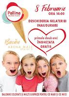 Pallina Gelateria Italiana in Arena Mall!