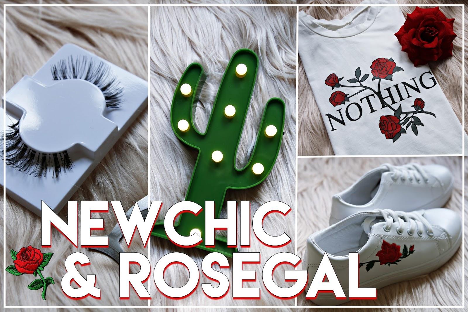 newchic rosegal zamówienie zakupy ubrania dodatki buty naszywki