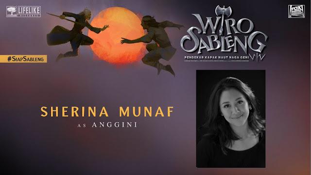 Sherina Munaf sebagai Anggini/ Sumber foto @LifeLikePictrs