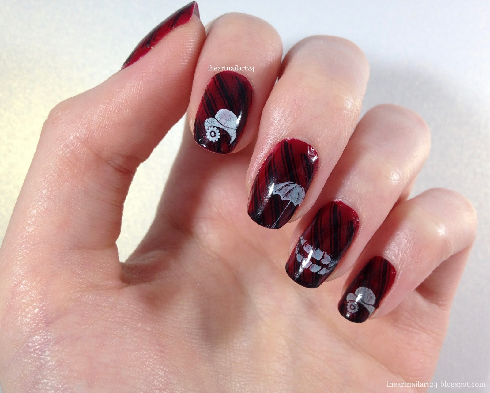 Crooked Man | I Heart Nail Art