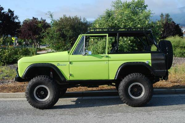 1970 Ford Bronco For Sale or Trade - 4x4 Cars