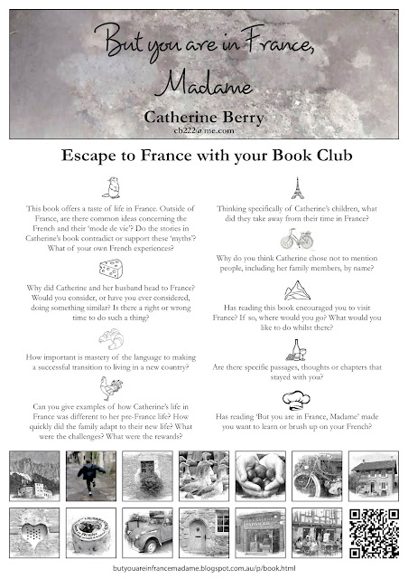 A quick trip to France with your Book Club?