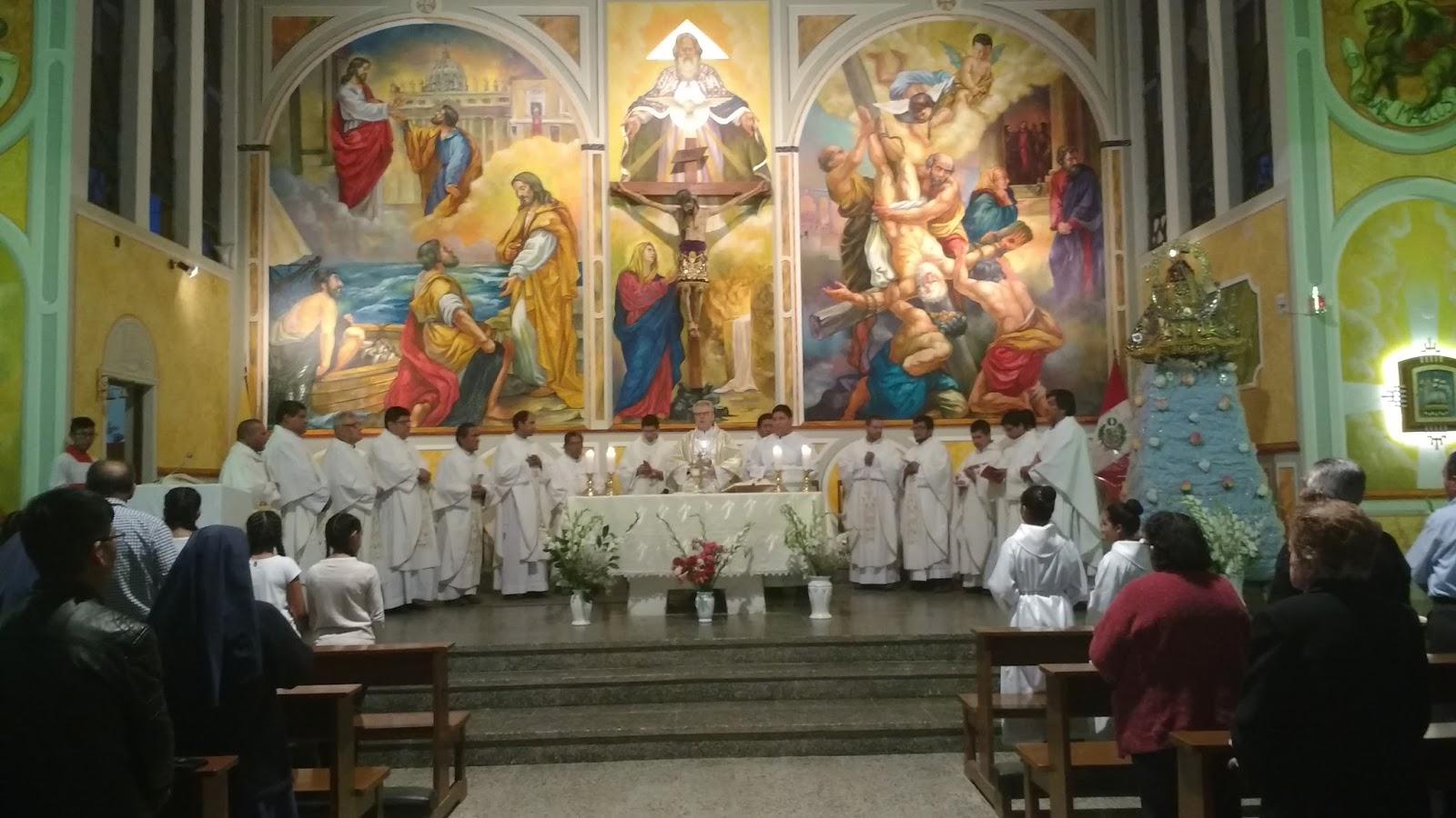 Prelatura de Caravelí: Reunión del Clero Diocesano y Celebración en ...