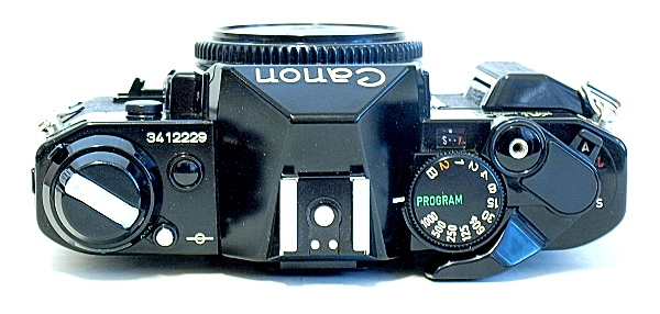 Canon AE-1 Program, Top
